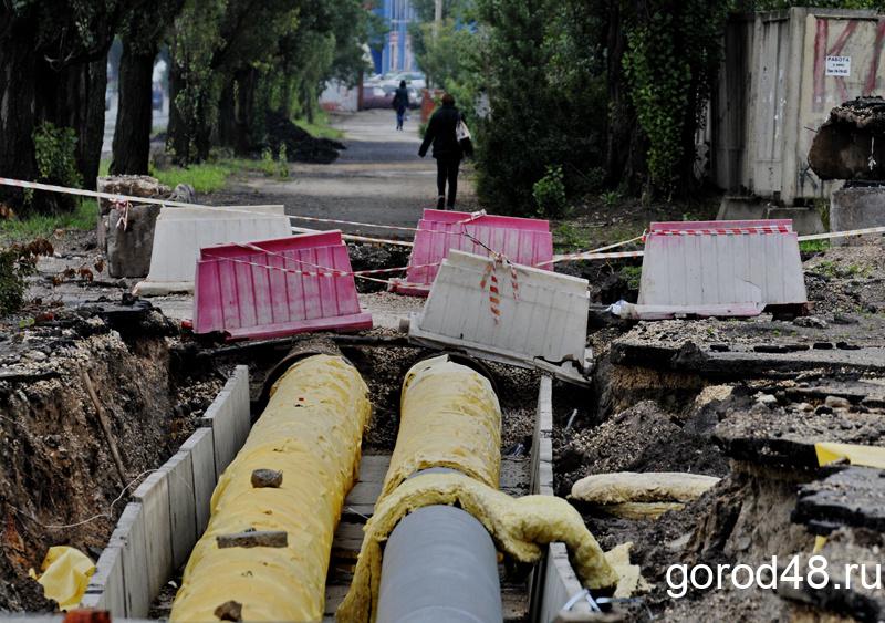 На трех улицах Липецка отключат воду