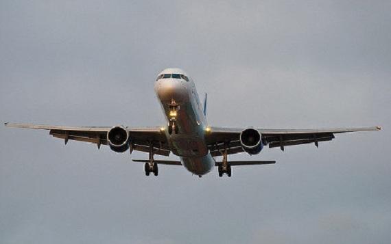 Аварийная посадка самолёта.