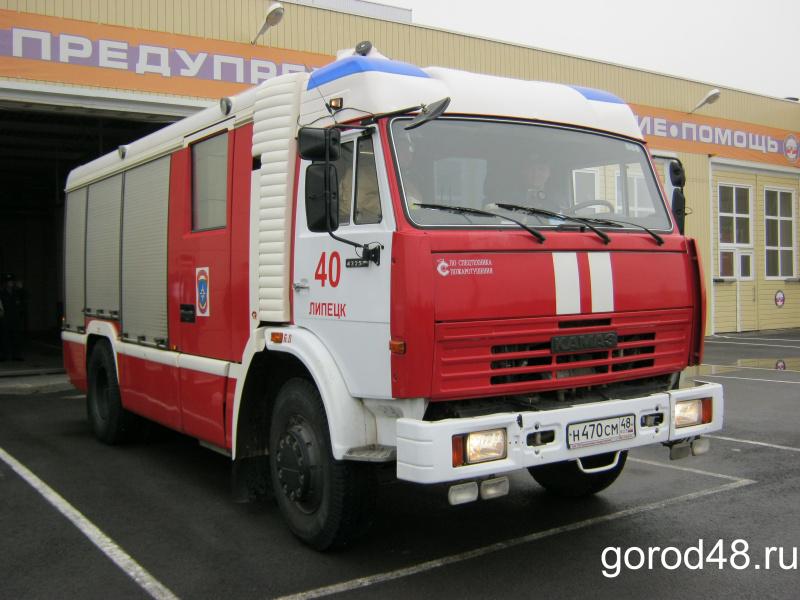 По центру Липецка проедет раритетная пожарная техника