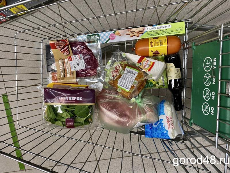 Липчане стали тратить в магазинах на 3,3% меньше денег