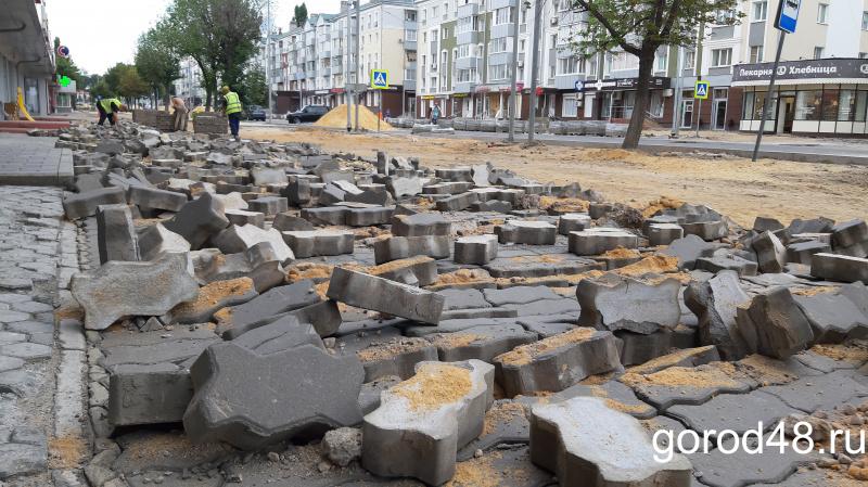 Без сквера и новой дороги – почему липчане остались без отремонтированных пространств?