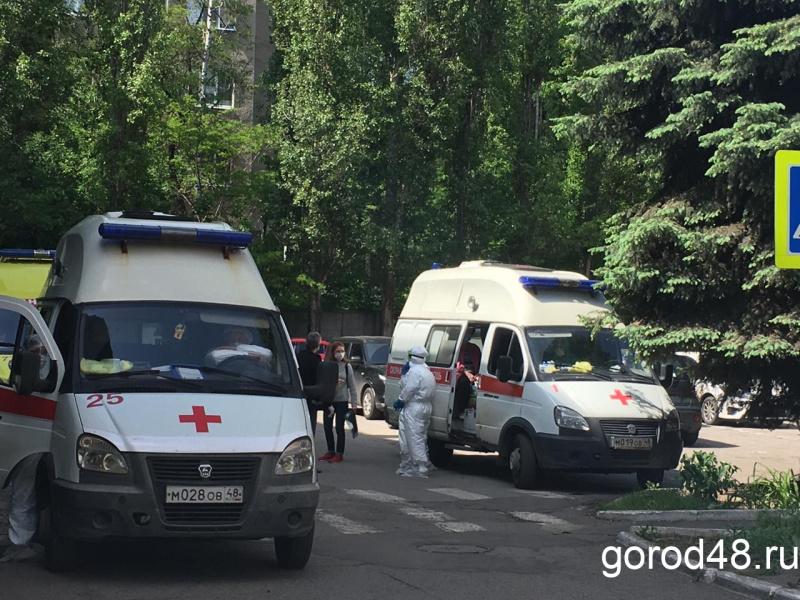 ВЛипецкой области новый суточный максимум смертностей отCOVID-19