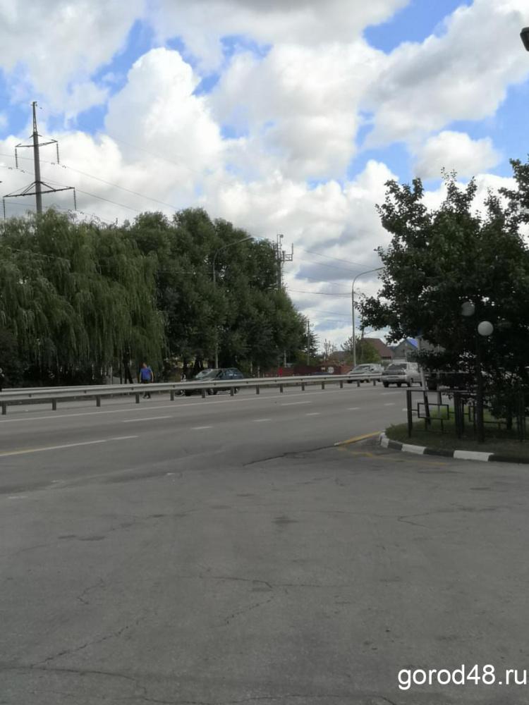 В Липецке насмерть сбили велосипедиста
