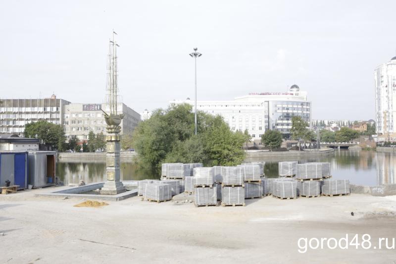 Подрядчик благоустройства сквера у Комсомольского пруда может избежать банкротства