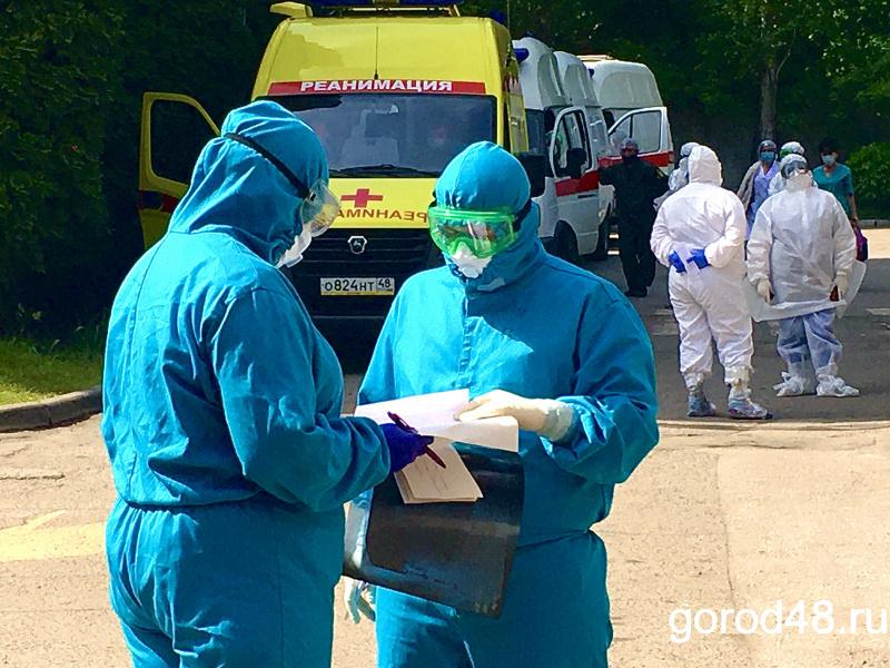 Число умерших от COVID-19 в Липецкой области перевалило за 600