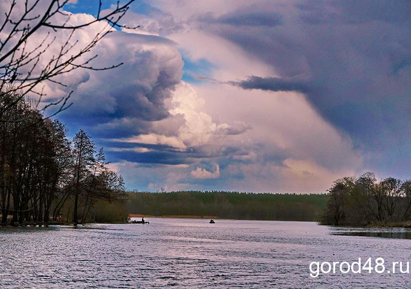 В Липецкой области дождливо, ветрено и до +11