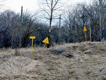 Зона отчуждения чернобыльской АЭС.