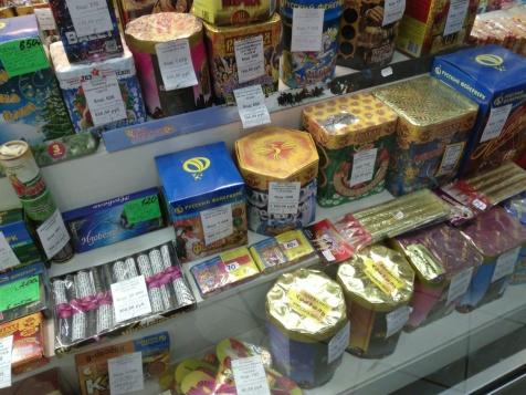 ВБурятии проверяют места продажи пиротехнических изделий